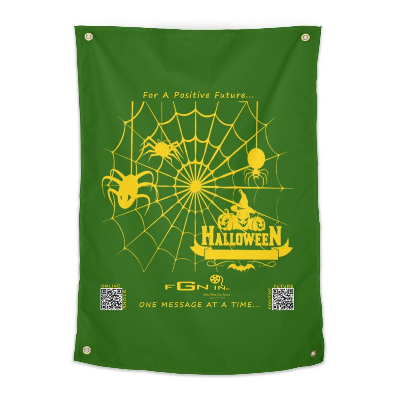 682B - HalloweeN Home Tapestry by FGN Inc. Online Shop