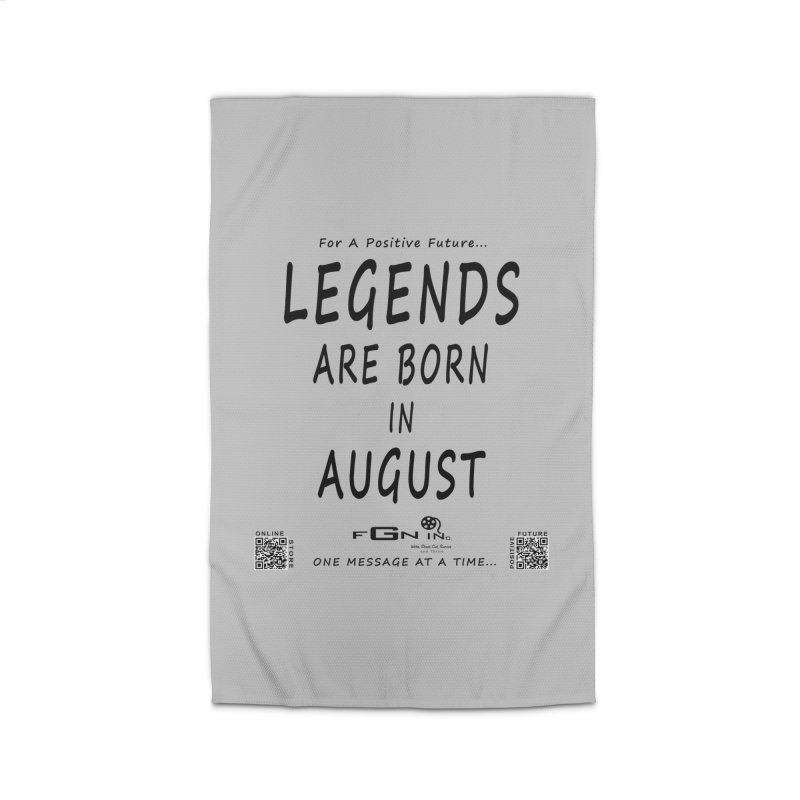 683 - Legends Are Born In August Home Rug by FGN Inc. Online Shop