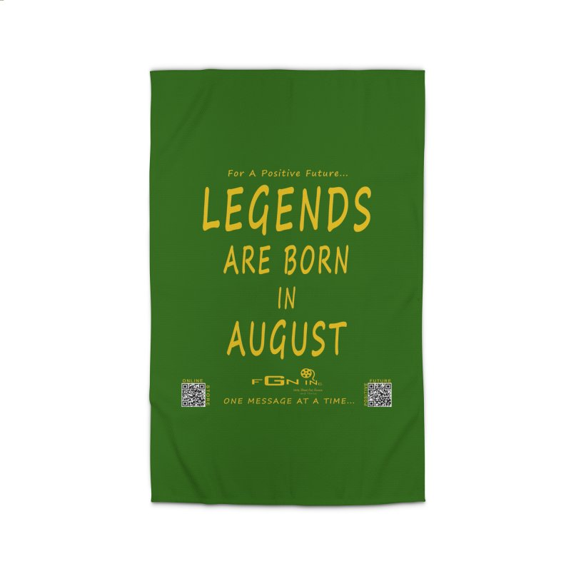 683B - Legends Are Born In August Home Rug by FGN Inc. Online Shop