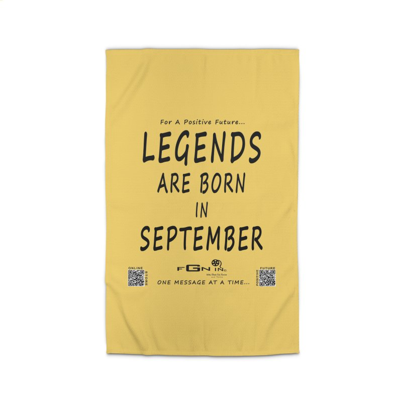 684 - Legends Are Born In September Home Rug by FGN Inc. Online Shop