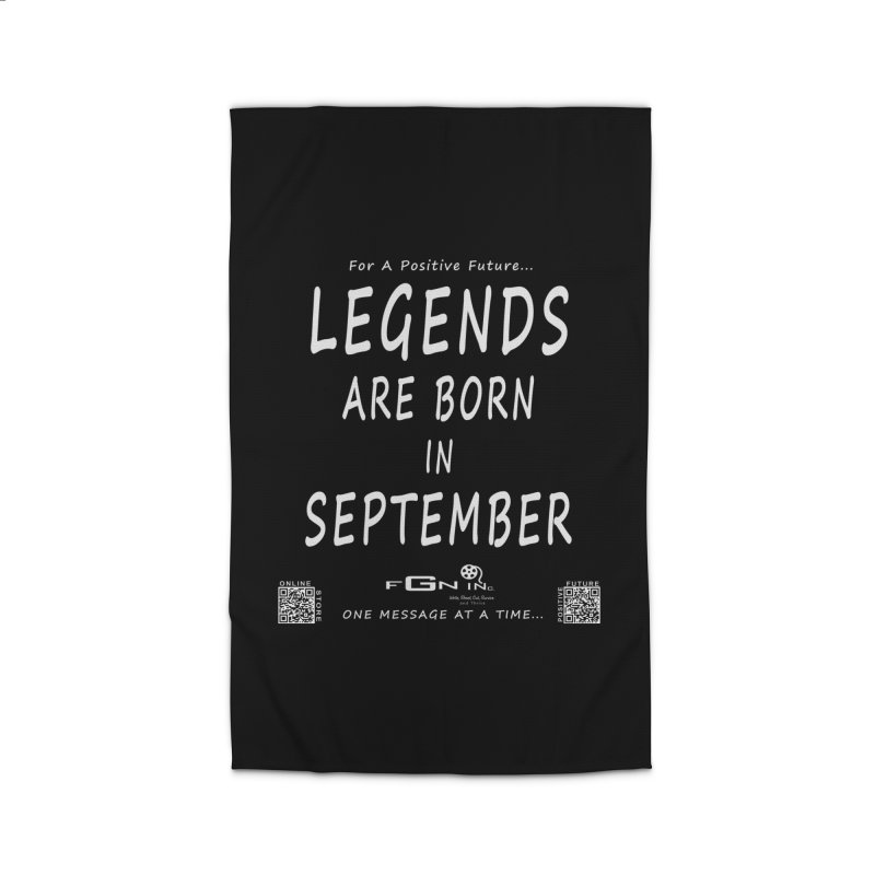 684A - Legends Are Born In September Home Rug by FGN Inc. Online Shop