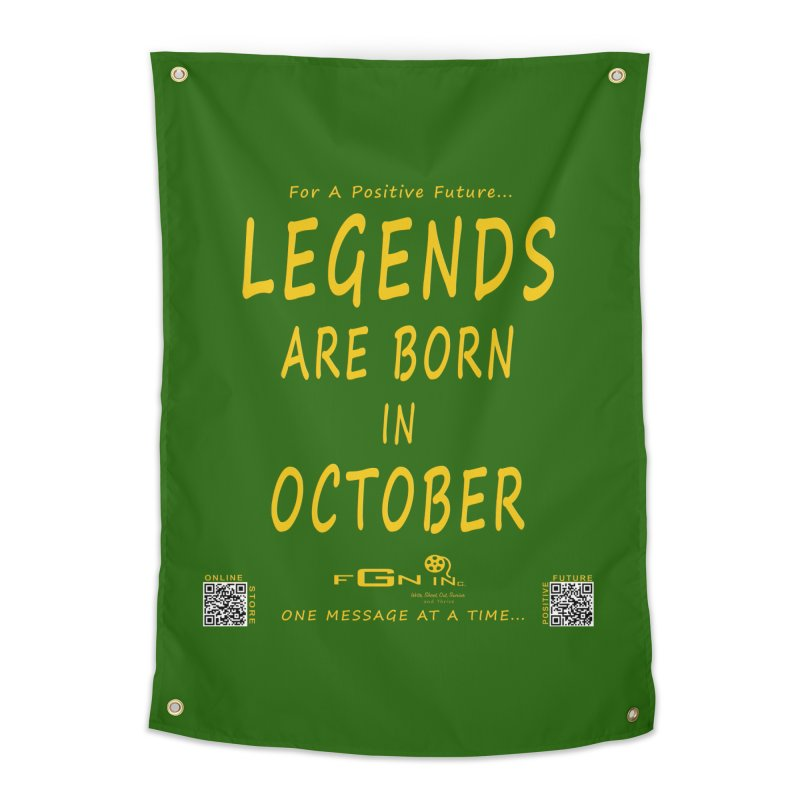 685B - Legends Are Born In October Home Tapestry by FGN Inc. Online Shop