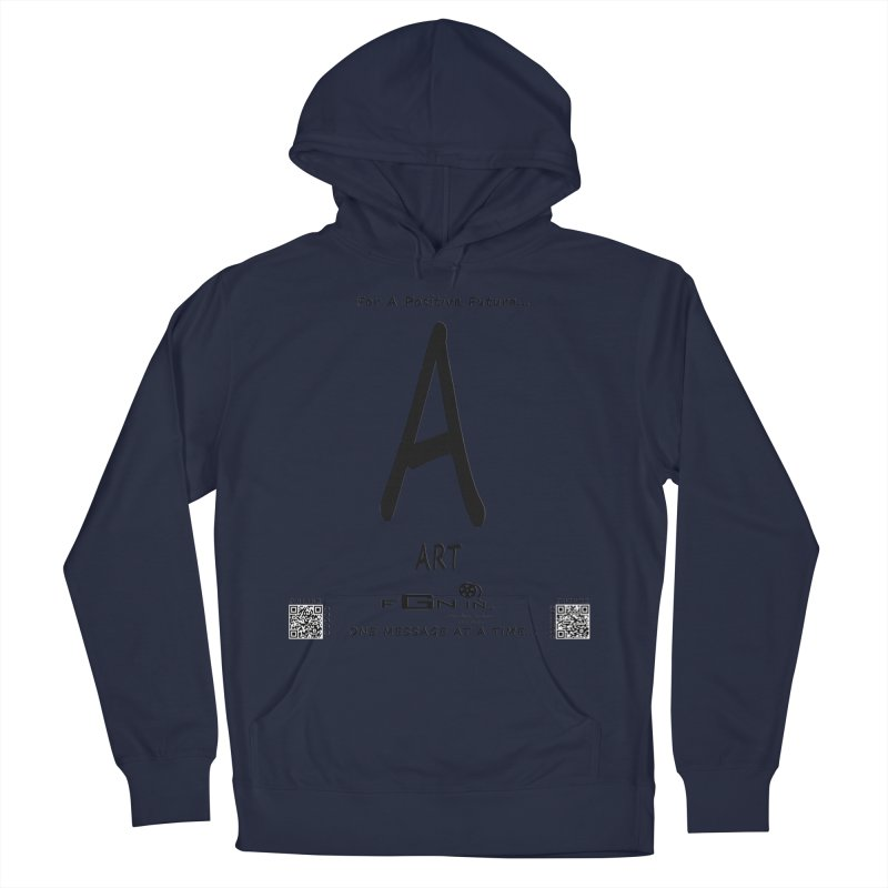687 - A For Art Men's Pullover Hoody by FGN Inc. Online Shop