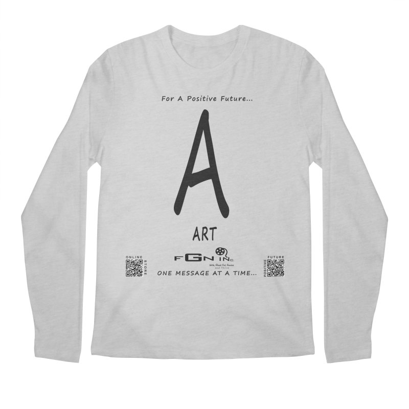687 - A For Art Men's Longsleeve T-Shirt by FGN Inc. Online Shop