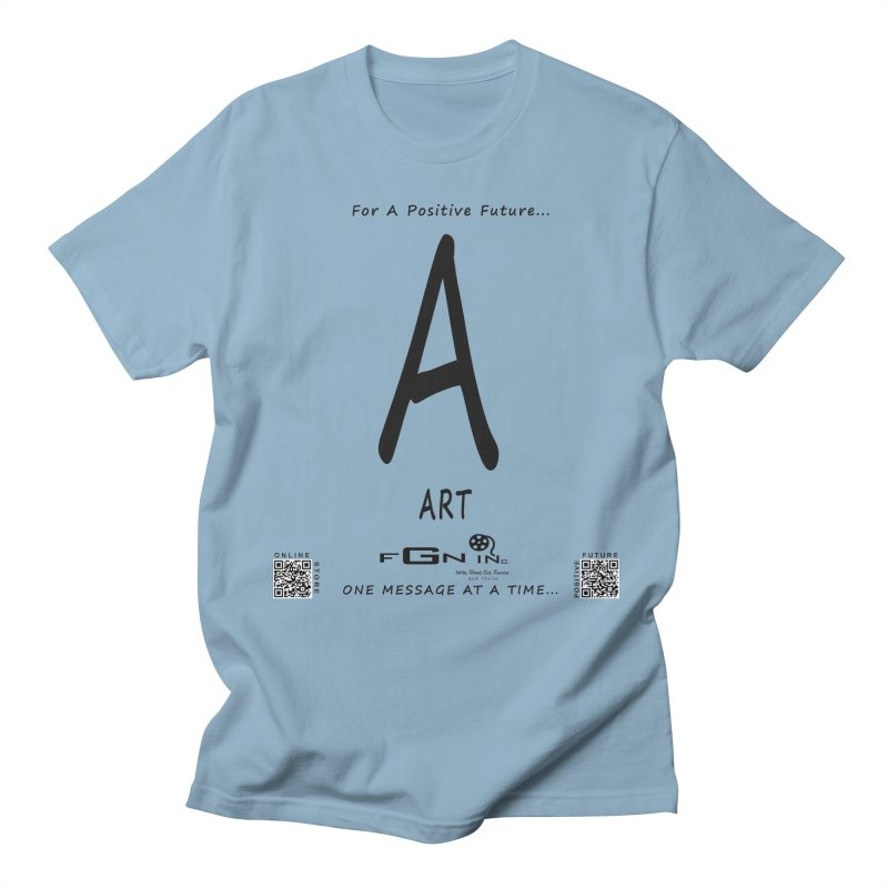 687 - A For Art Men's T-Shirt by FGN Inc. Online Shop