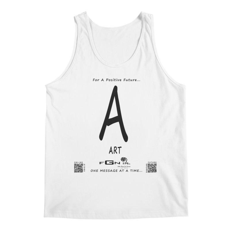 687 - A For Art Men's Regular Tank by FGN Inc. Online Shop