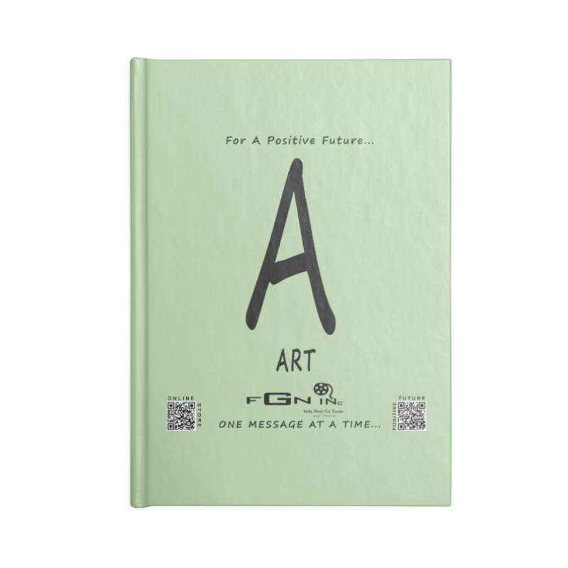 687 - A For Art Accessories Blank Journal Notebook by FGN Inc. Online Shop