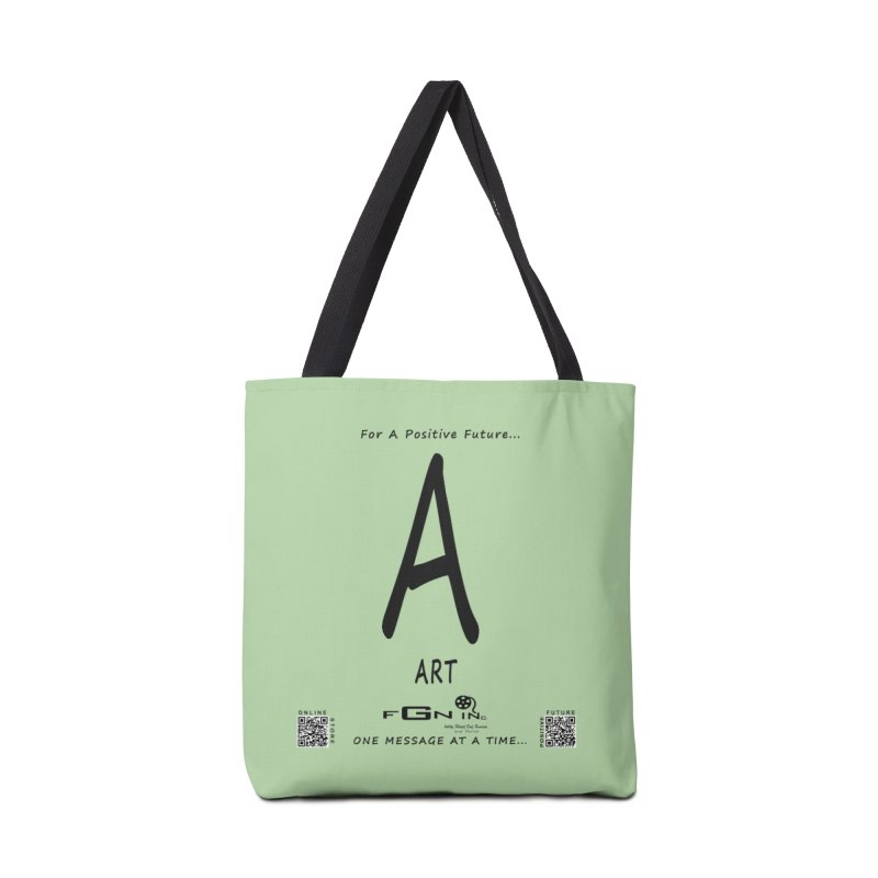 687 - A For Art Accessories Tote Bag Bag by FGN Inc. Online Shop