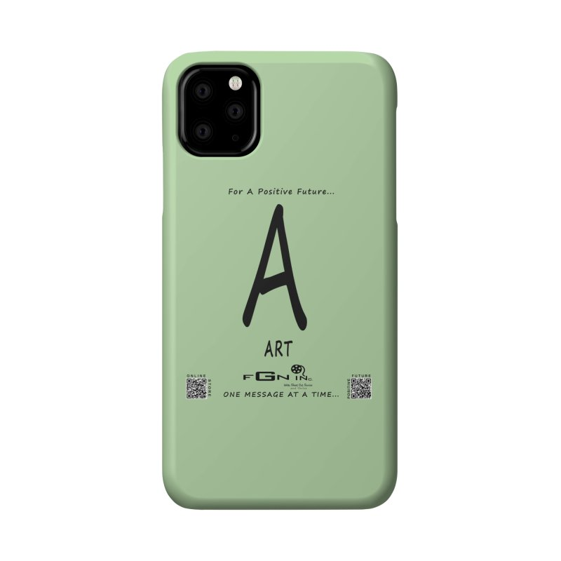 687 - A For Art Accessories Phone Case by FGN Inc. Online Shop