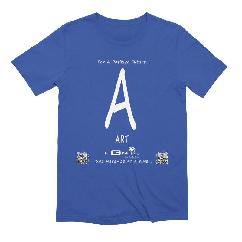 687A - A For Art Men's T-Shirt by FGN Inc. Online Shop