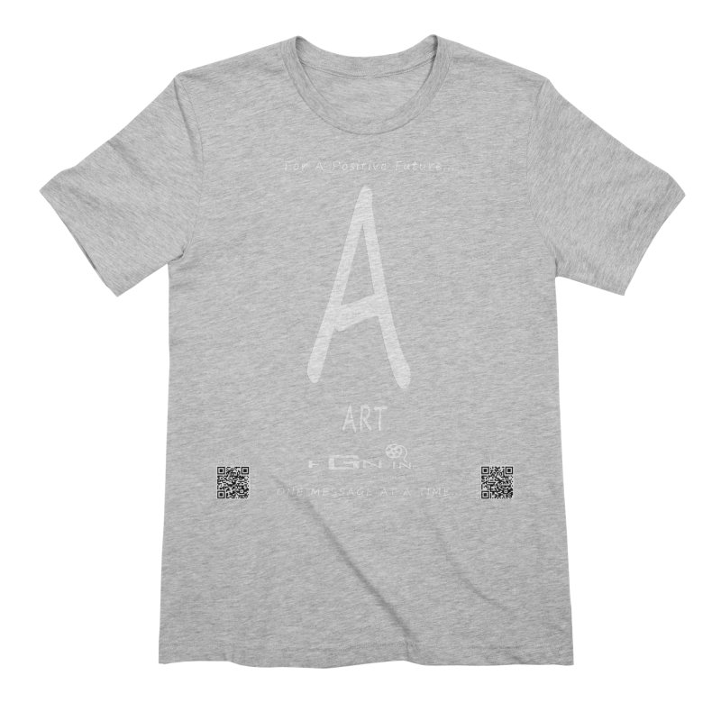 687A - A For Art Men's Extra Soft T-Shirt by FGN Inc. Online Shop