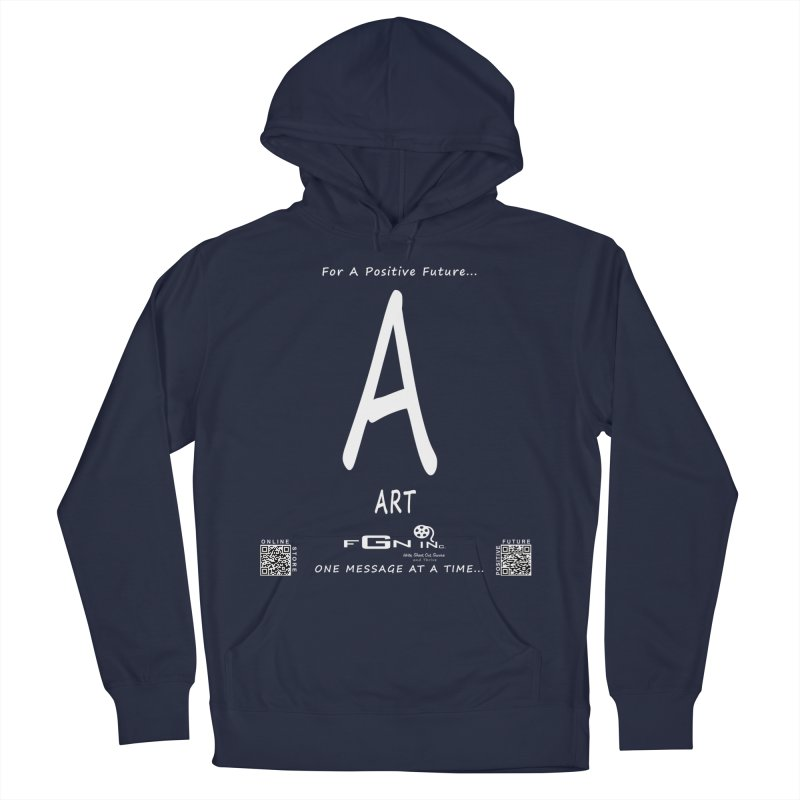 687A - A For Art Men's Pullover Hoody by FGN Inc. Online Shop