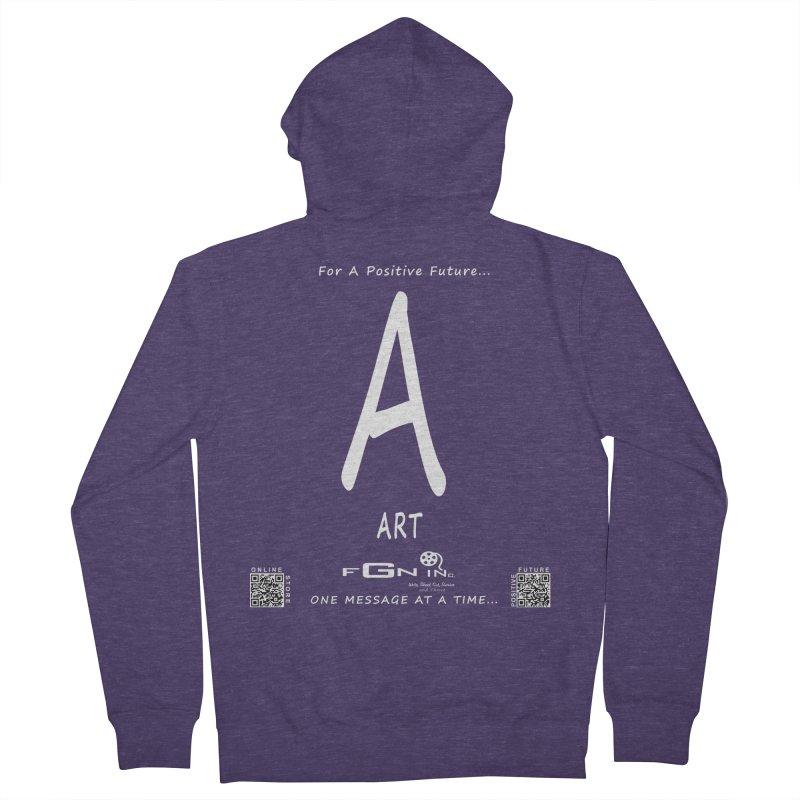 687A - A For Art Men's Zip-Up Hoody by FGN Inc. Online Shop
