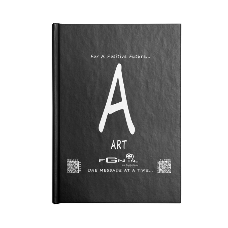 687A - A For Art Accessories Blank Journal Notebook by FGN Inc. Online Shop