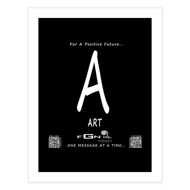 687A - A For Art Home Fine Art Print by FGN Inc. Online Shop