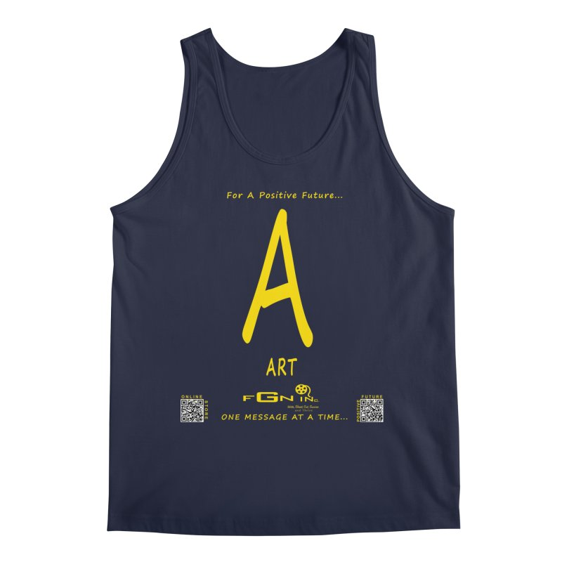 687B - A For Art Men's Regular Tank by FGN Inc. Online Shop