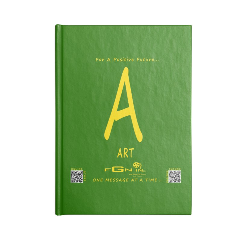 687B - A For Art Accessories Blank Journal Notebook by FGN Inc. Online Shop