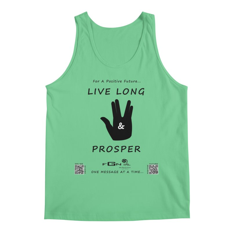 689 - Live Long and Prosper Men's Regular Tank by FGN Inc. Online Shop