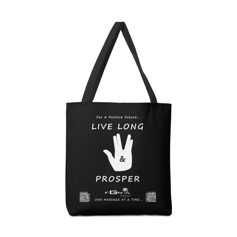 689A - Live Long and Prosper Accessories Tote Bag Bag by FGN Inc. Online Shop