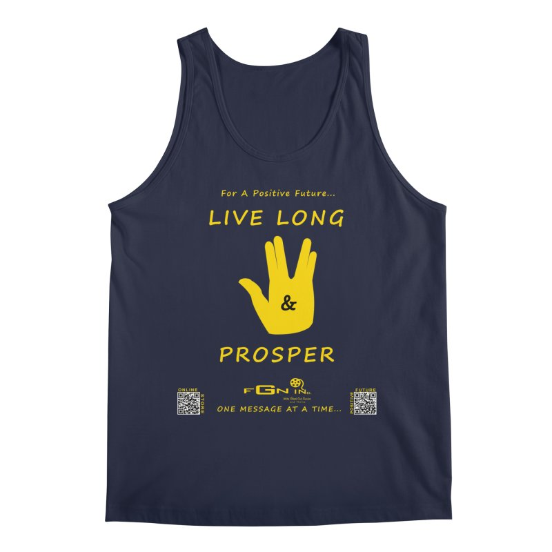689B - Live Long and Prosper Men's Regular Tank by FGN Inc. Online Shop