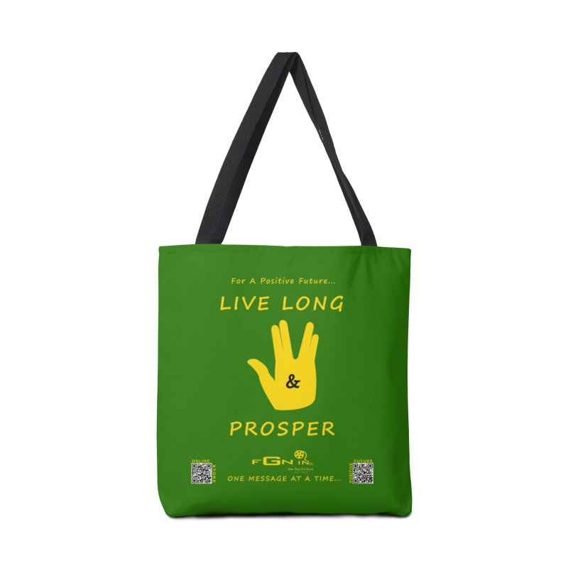 689B - Live Long and Prosper Accessories Tote Bag Bag by FGN Inc. Online Shop