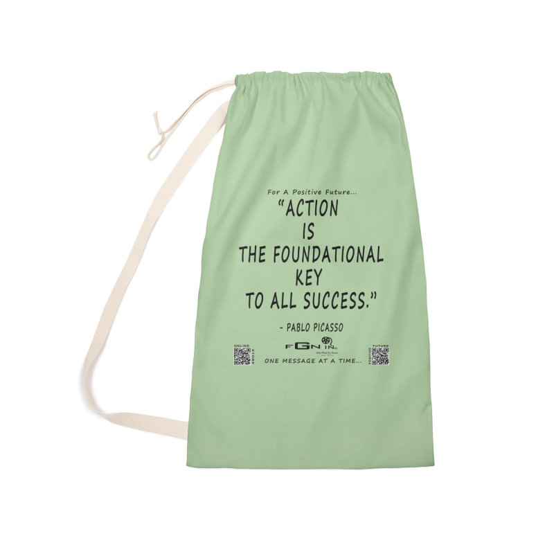 690 - Pablo Picasso Quote Accessories Laundry Bag Bag by FGN Inc. Online Shop