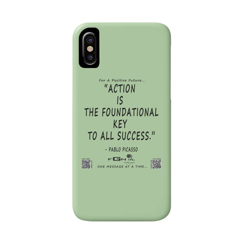 690 - Pablo Picasso Quote Accessories Phone Case by FGN Inc. Online Shop