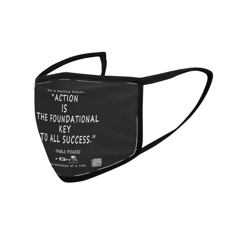 690A - Pablo Picasso Quote Accessories Face Mask by FGN Inc. Online Shop
