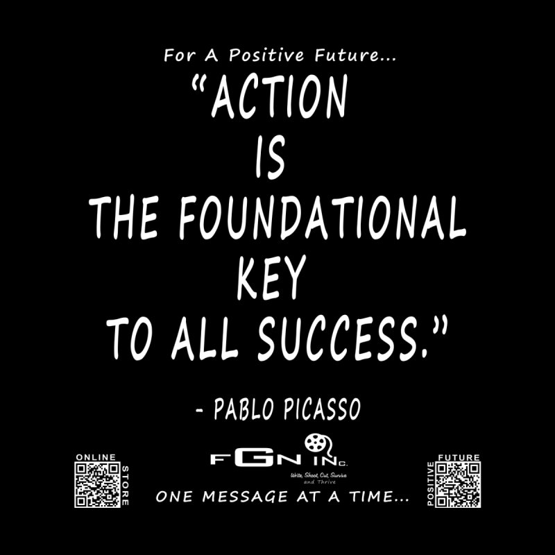 690A - Pablo Picasso Quote by FGN Inc. Online Shop