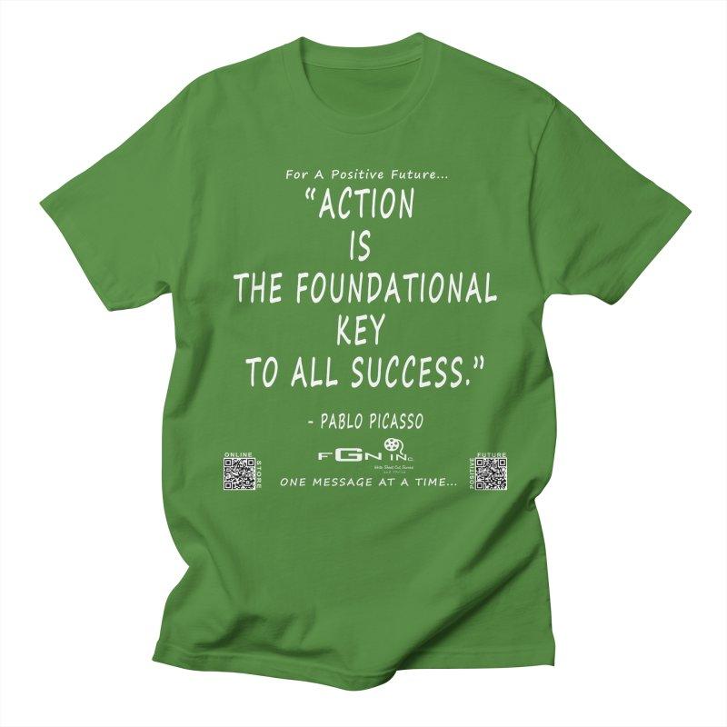 690A - Pablo Picasso Quote Women's Regular Unisex T-Shirt by FGN Inc. Online Shop