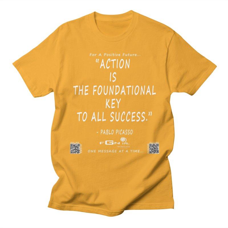 690A - Pablo Picasso Quote Women's Regular Unisex T-Shirt by FGN Inc. Online Shop