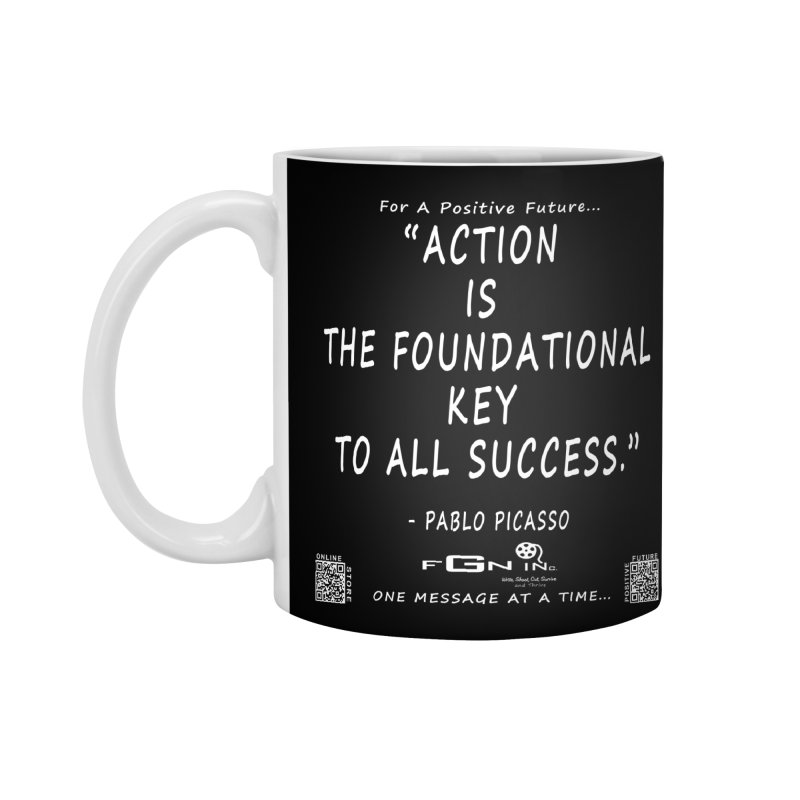 690A - Pablo Picasso Quote Accessories Mug by FGN Inc. Online Shop