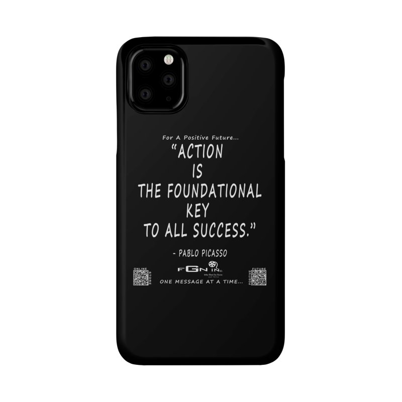 690A - Pablo Picasso Quote Accessories Phone Case by FGN Inc. Online Shop