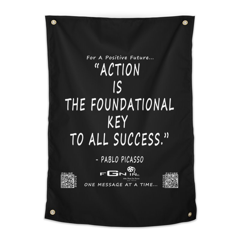 690A - Pablo Picasso Quote Home Tapestry by FGN Inc. Online Shop
