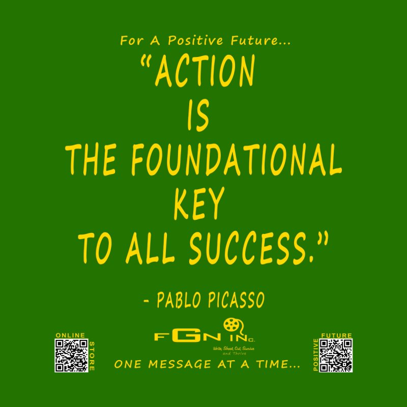 690B - Pablo Picasso Quote None  by FGN Inc. Online Shop