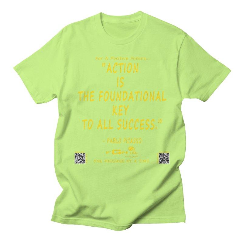 690B - Pablo Picasso Quote Women's Regular Unisex T-Shirt by FGN Inc. Online Shop