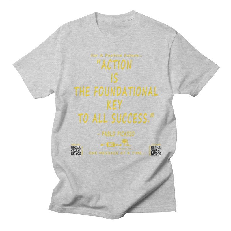 690B - Pablo Picasso Quote Men's Regular T-Shirt by FGN Inc. Online Shop