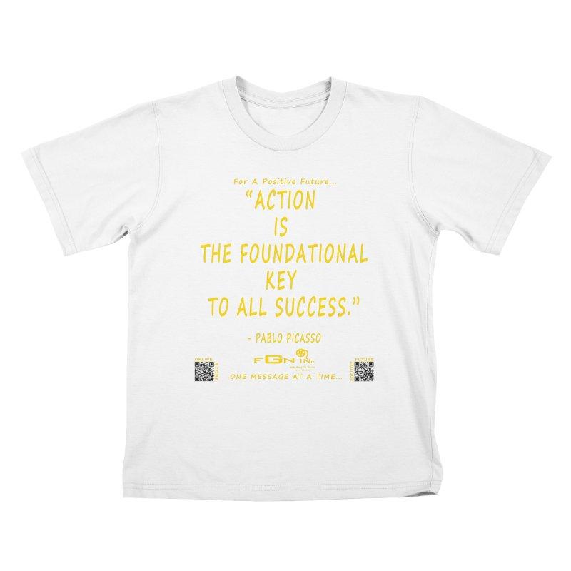690B - Pablo Picasso Quote Kids T-Shirt by FGN Inc. Online Shop