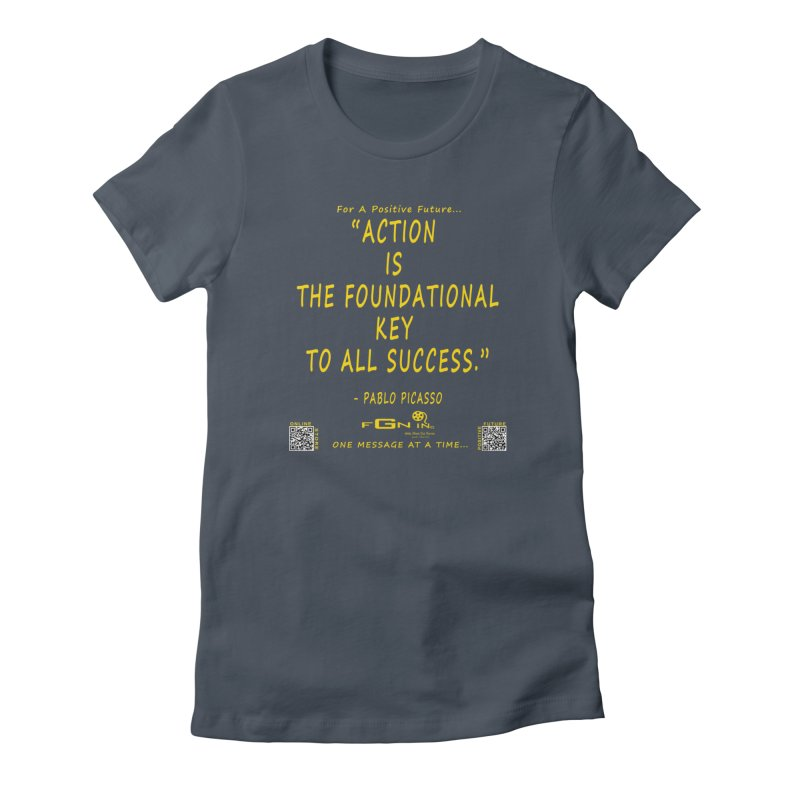 690B - Pablo Picasso Quote Women's T-Shirt by FGN Inc. Online Shop