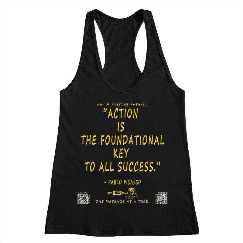 690B - Pablo Picasso Quote Women's Tank by FGN Inc. Online Shop