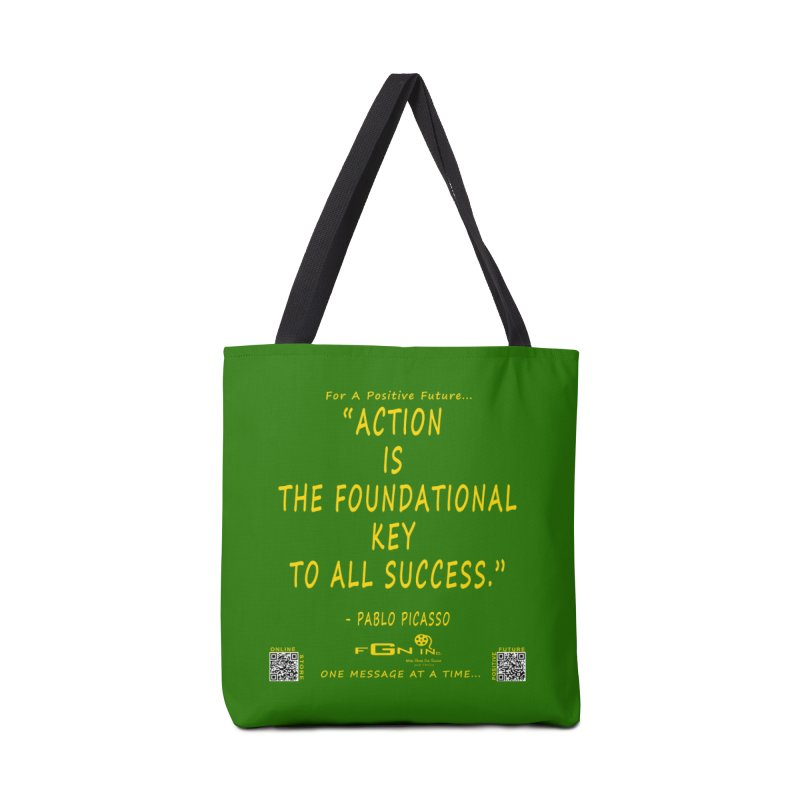 690B - Pablo Picasso Quote Accessories Tote Bag Bag by FGN Inc. Online Shop