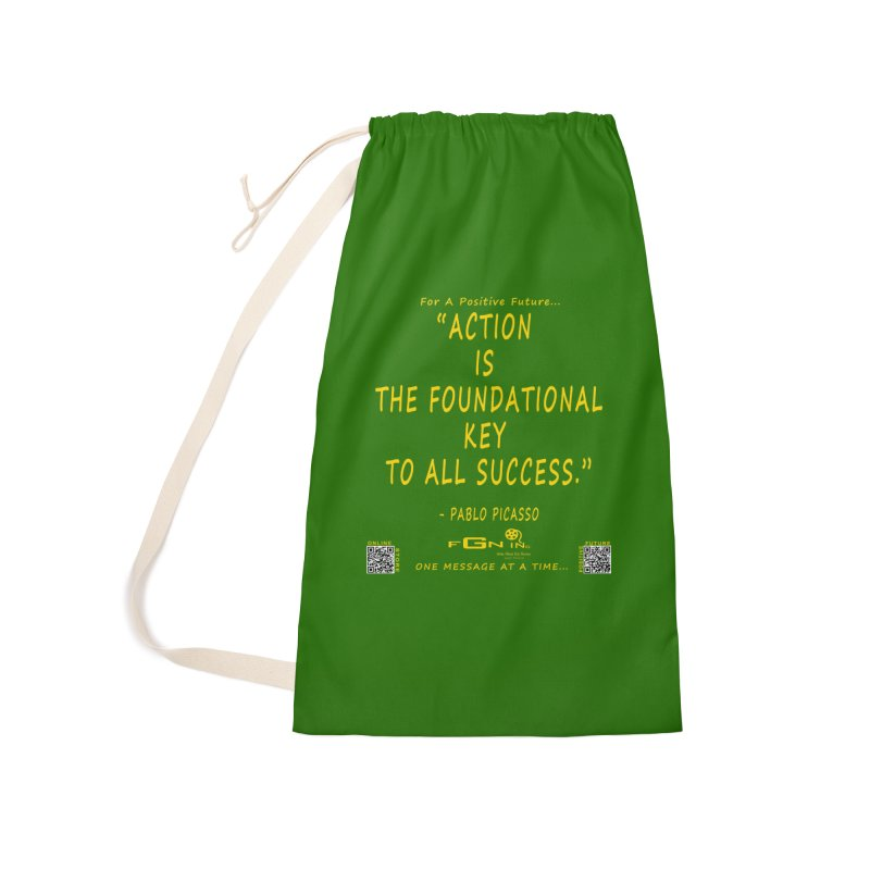 690B - Pablo Picasso Quote Accessories Laundry Bag Bag by FGN Inc. Online Shop