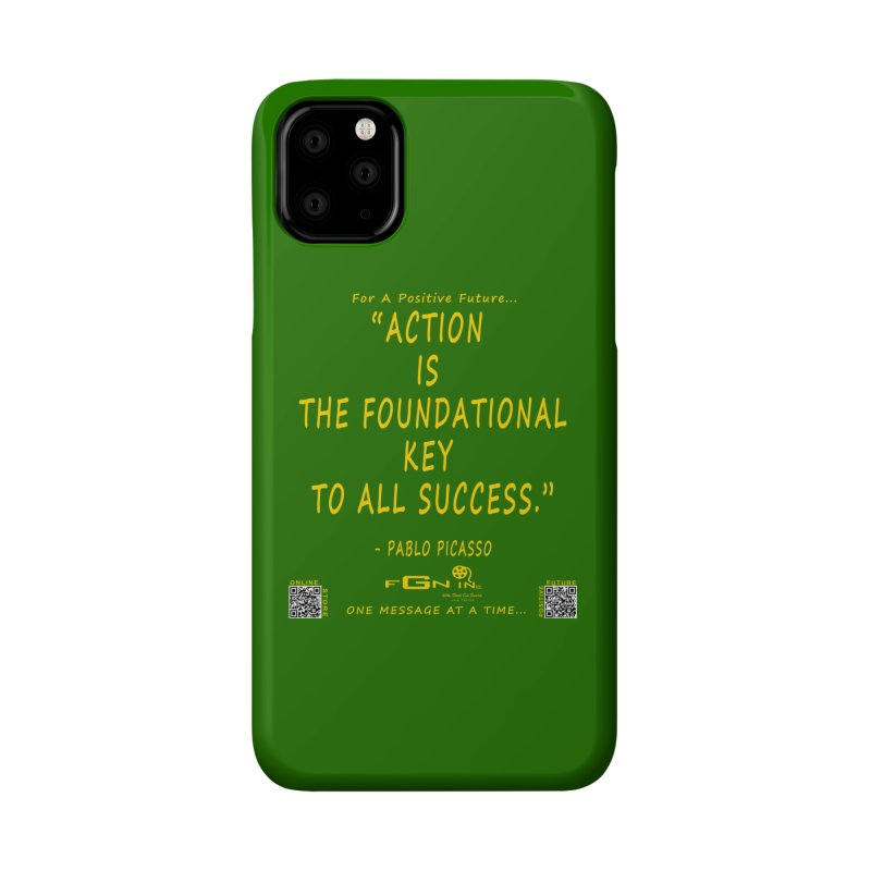 690B - Pablo Picasso Quote Accessories Phone Case by FGN Inc. Online Shop