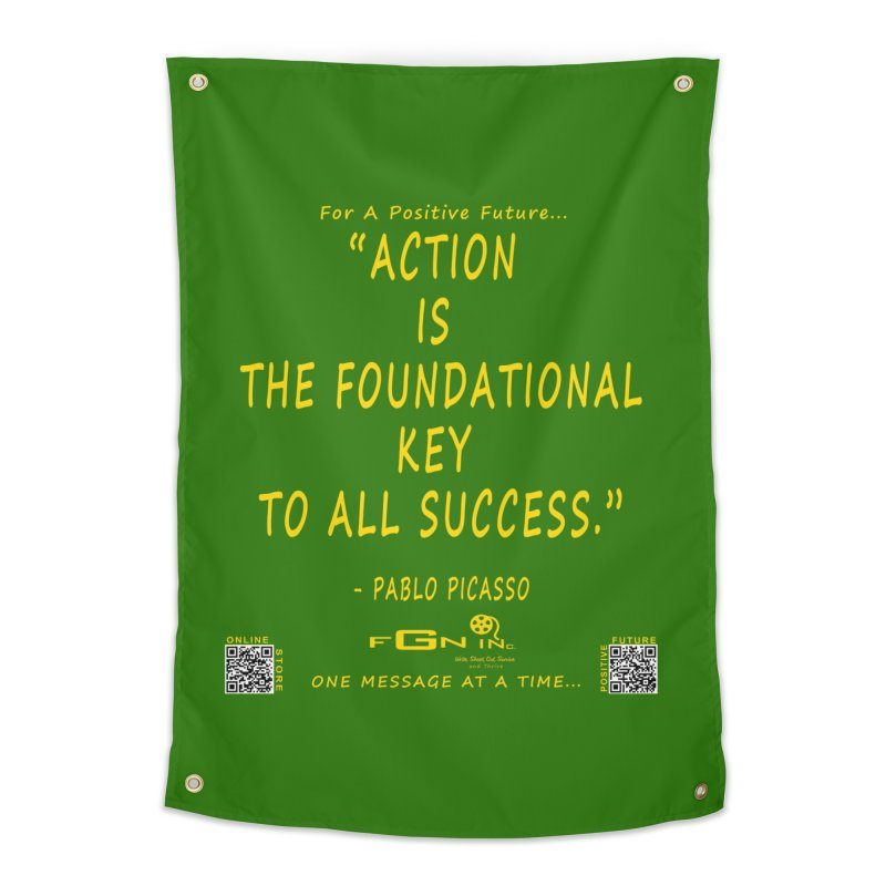 690B - Pablo Picasso Quote Home Tapestry by FGN Inc. Online Shop