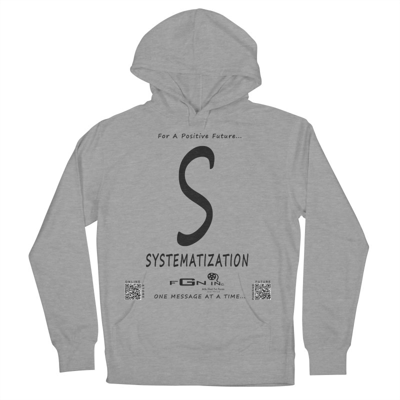 691 - S For Systematization Men's French Terry Pullover Hoody by FGN Inc. Online Shop