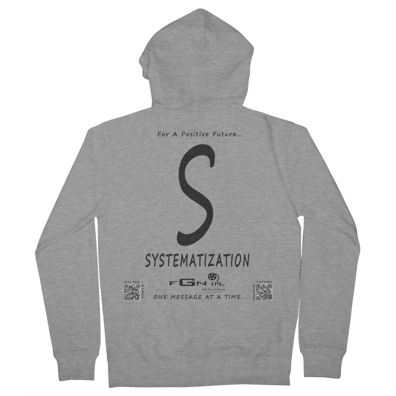 691 - S For Systematization Women's French Terry Zip-Up Hoody by FGN Inc. Online Shop