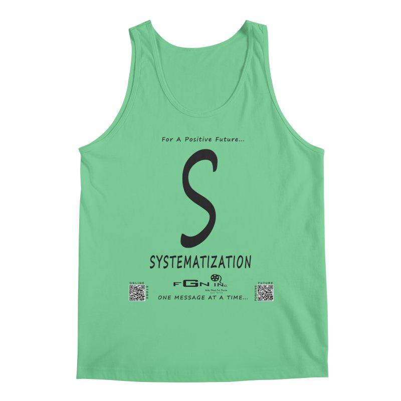 691 - S For Systematization Men's Regular Tank by FGN Inc. Online Shop