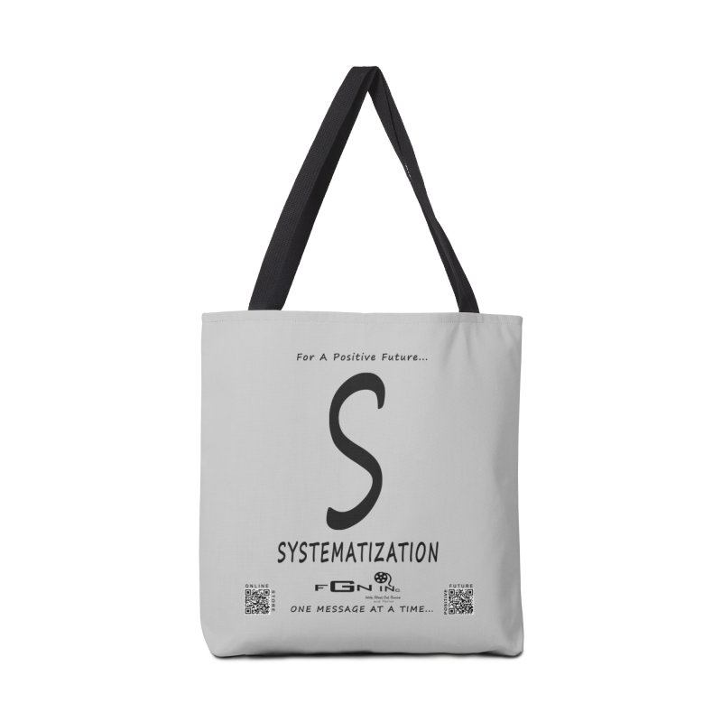 691 - S For Systematization Accessories Tote Bag Bag by FGN Inc. Online Shop