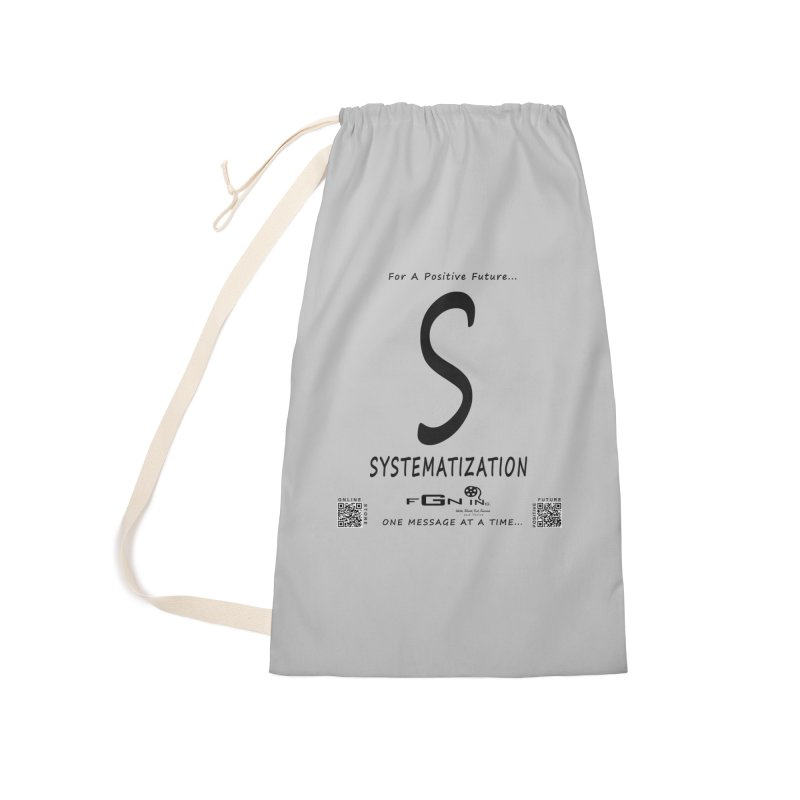 691 - S For Systematization Accessories Laundry Bag Bag by FGN Inc. Online Shop