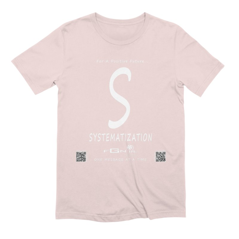 691A - S For Systematization Men's T-Shirt by FGN Inc. Online Shop